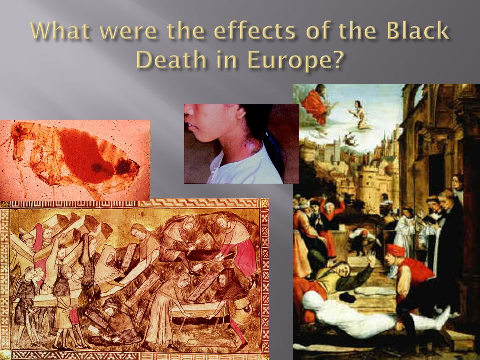 What were the effects of the Black Death in Europe