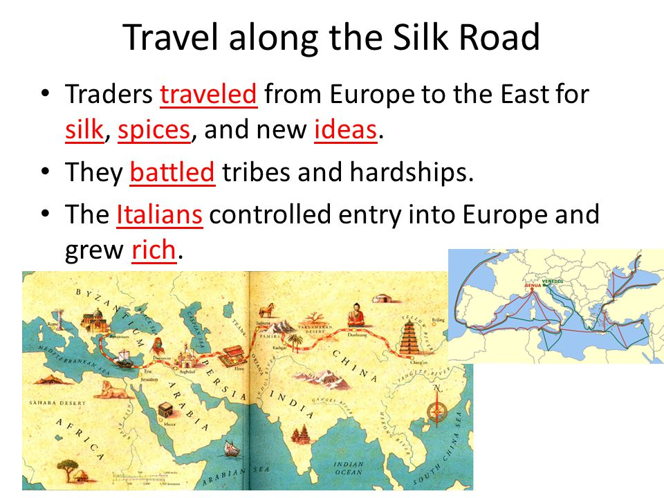 Travel along the Silk Road