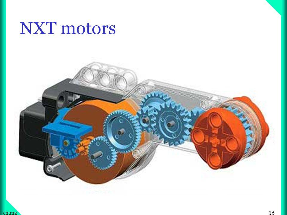 NXT motors chung