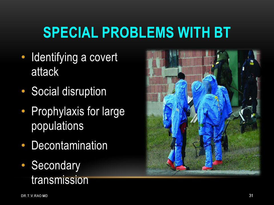 Special Problems with BT