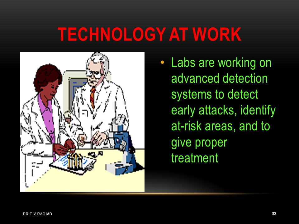 Technology At Work Labs are working on advanced detection systems to detect early attacks, identify at-risk areas, and to give proper treatment.