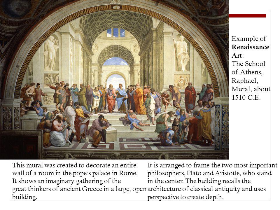 Example of Renaissance Art: