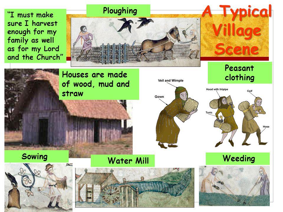 A Typical Village Scene