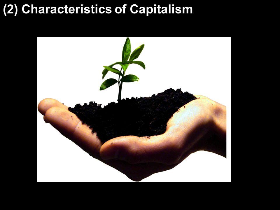 (2) Characteristics of Capitalism