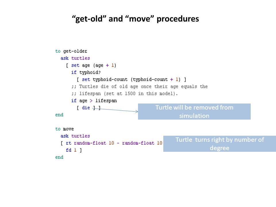 get-old and move procedures