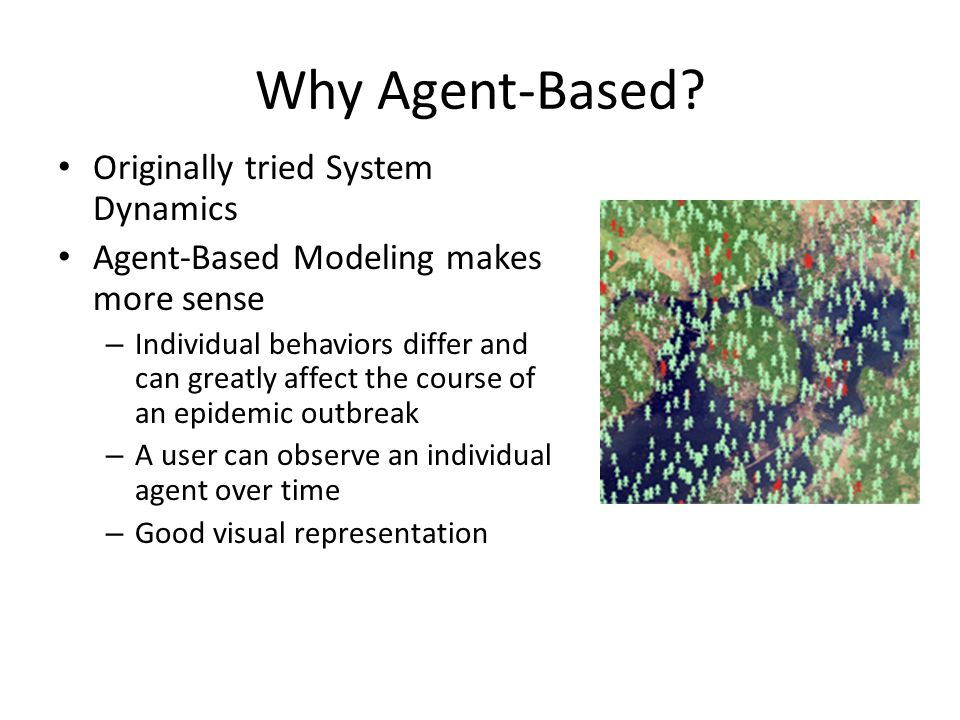 Why Agent-Based Originally tried System Dynamics