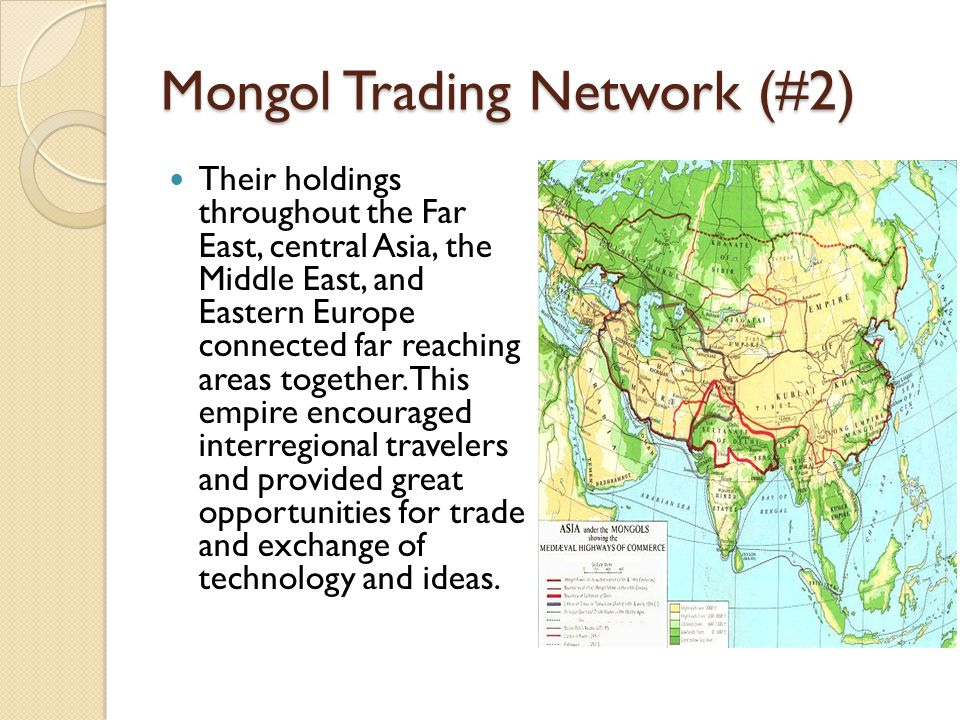 Mongol Trading Network (#2)