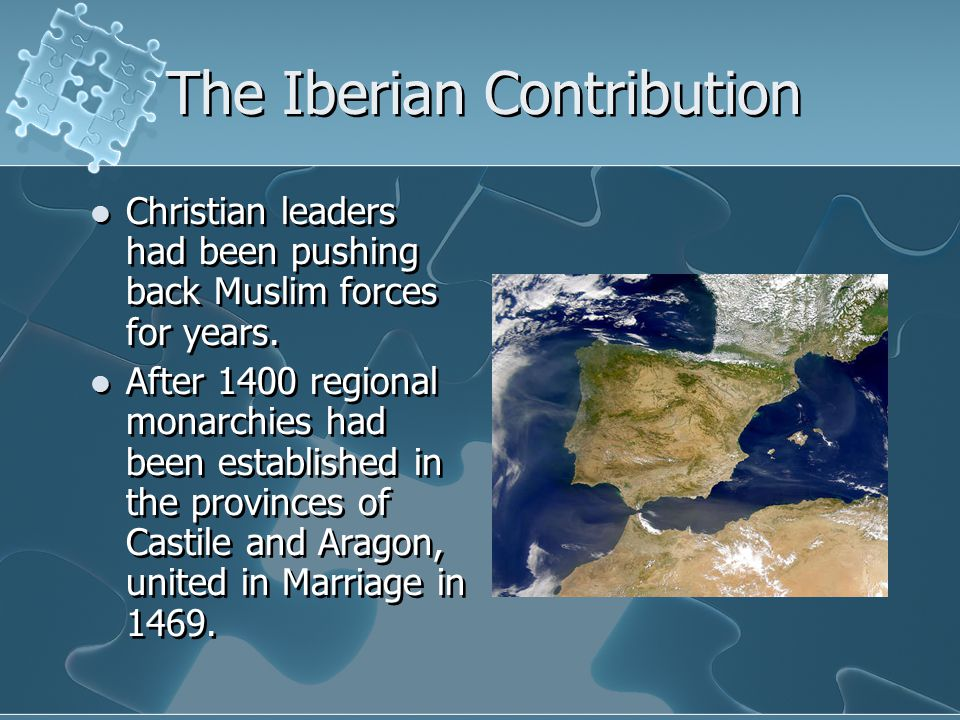 The Iberian Contribution