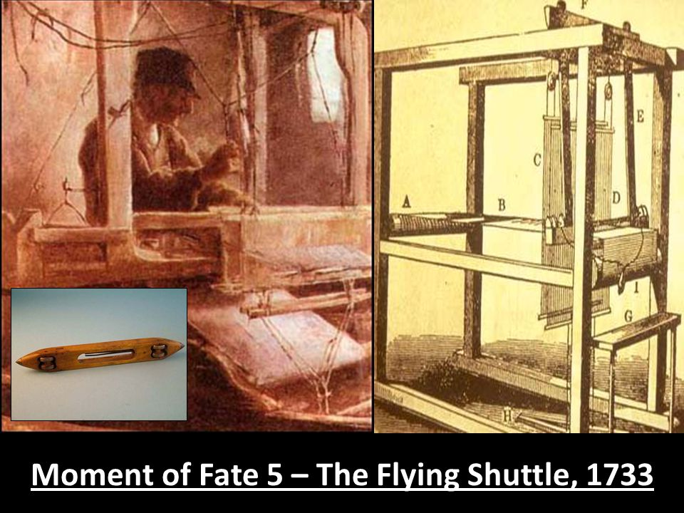 Moment of Fate 5 – The Flying Shuttle, 1733