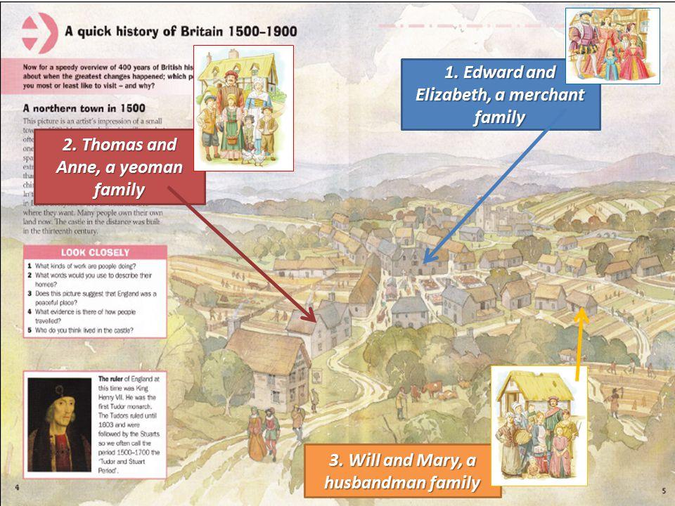 1. Edward and Elizabeth, a merchant family