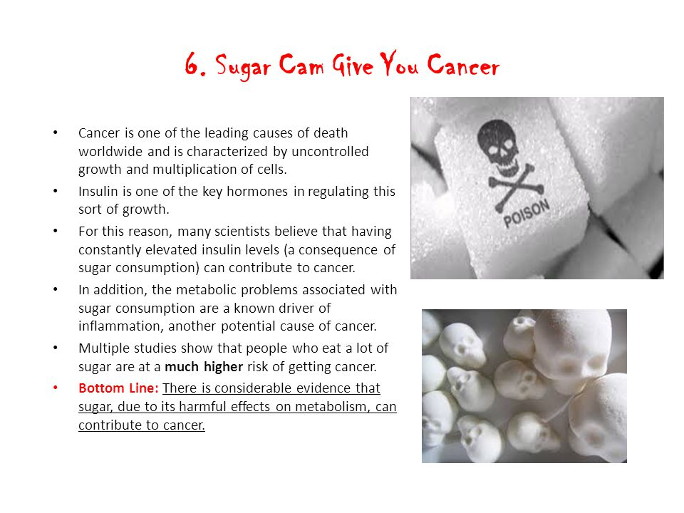 6. Sugar Cam Give You Cancer