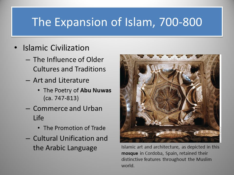 The Expansion of Islam, 700-800