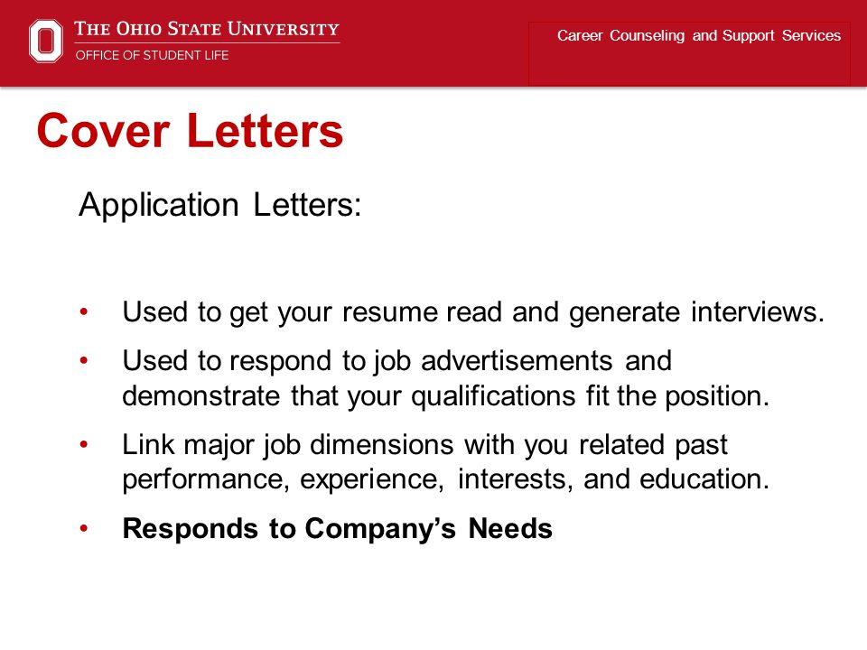 Cover Letters Application Letters: