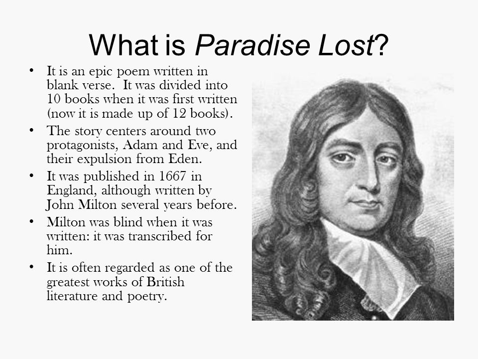 What is Paradise Lost