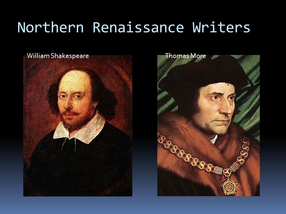 Northern Renaissance Writers