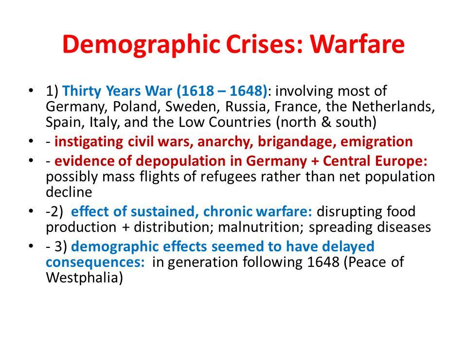 Demographic Crises: Warfare