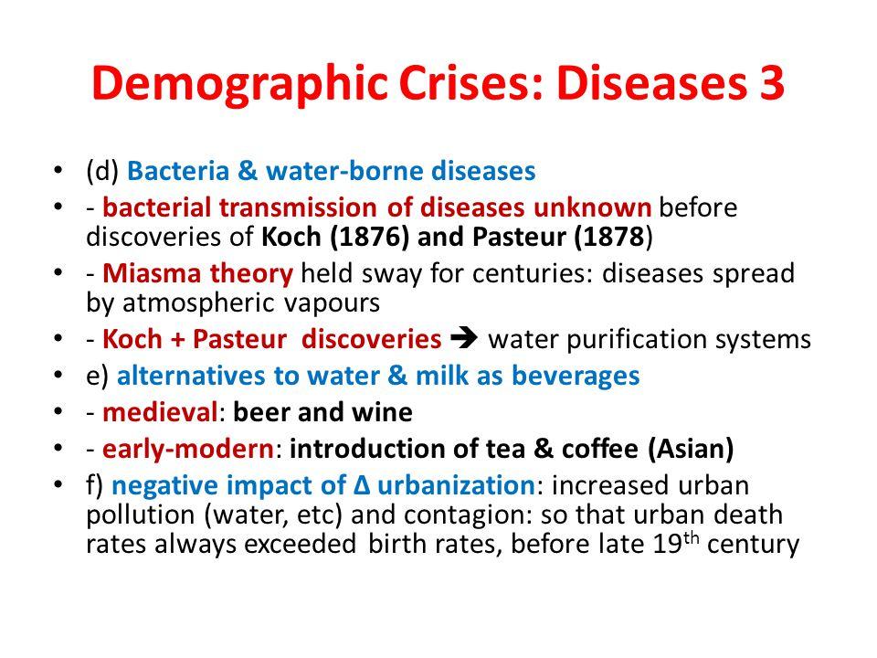 Demographic Crises: Diseases 3