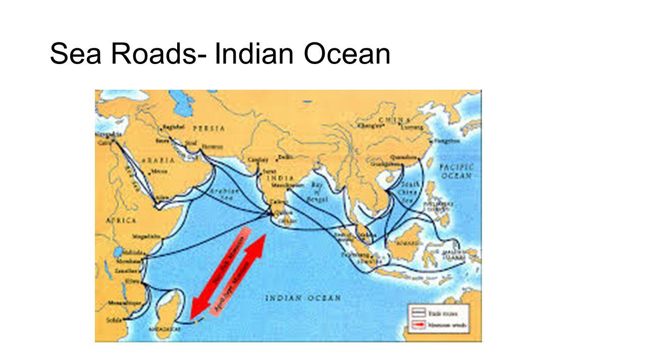 Sea Roads- Indian Ocean