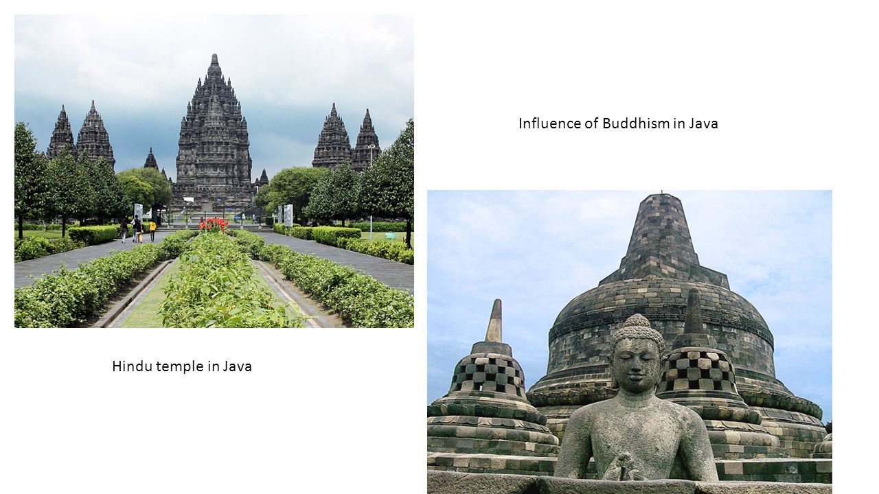 Influence of Buddhism in Java