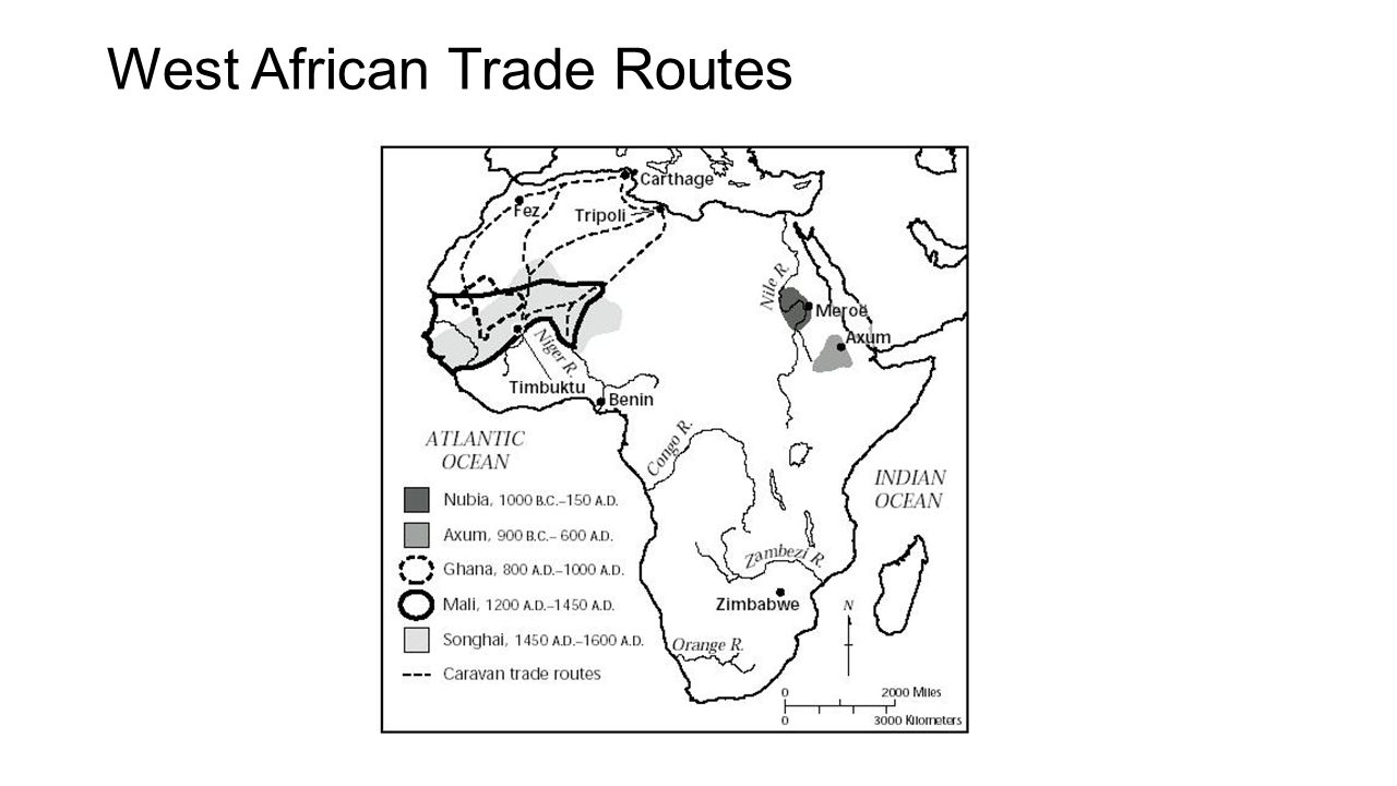 West African Trade Routes