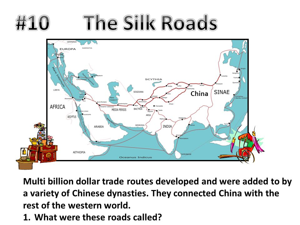 #10 The Silk Roads. China.