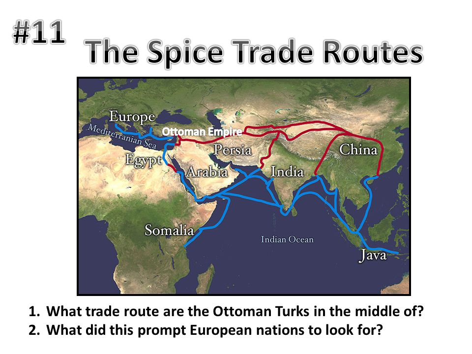 #11 The Spice Trade Routes