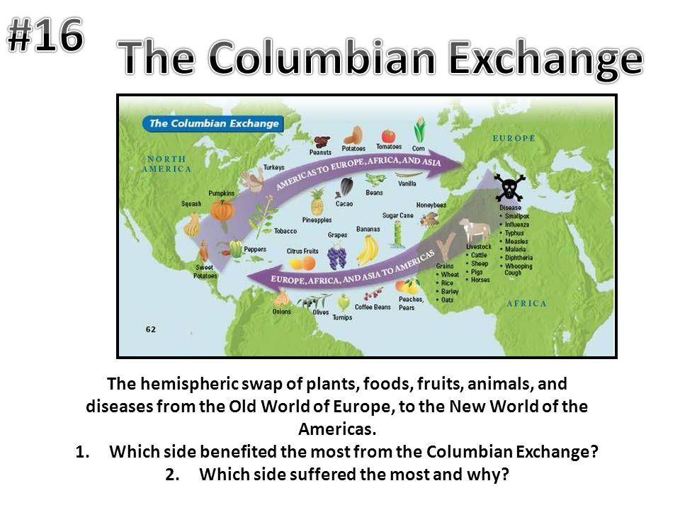 #16 The Columbian Exchange