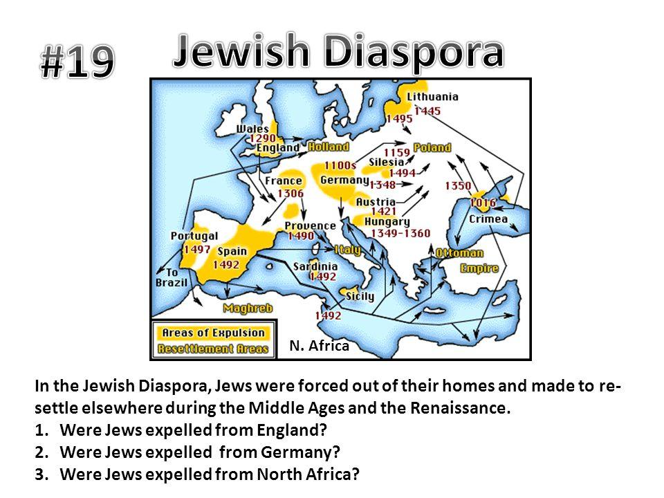 Jewish Diaspora #19. N. Africa.