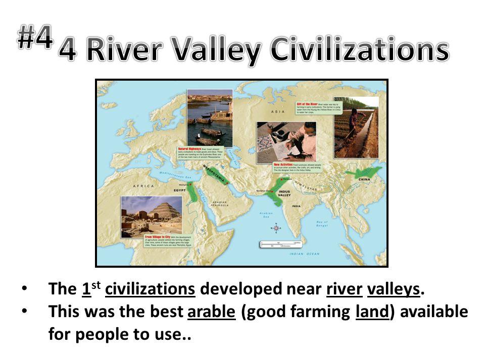4 River Valley Civilizations