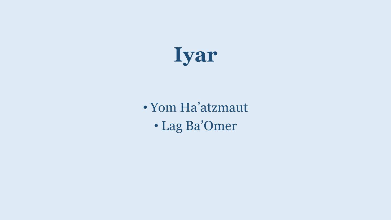 Iyar Yom Ha'atzmaut Lag Ba'Omer