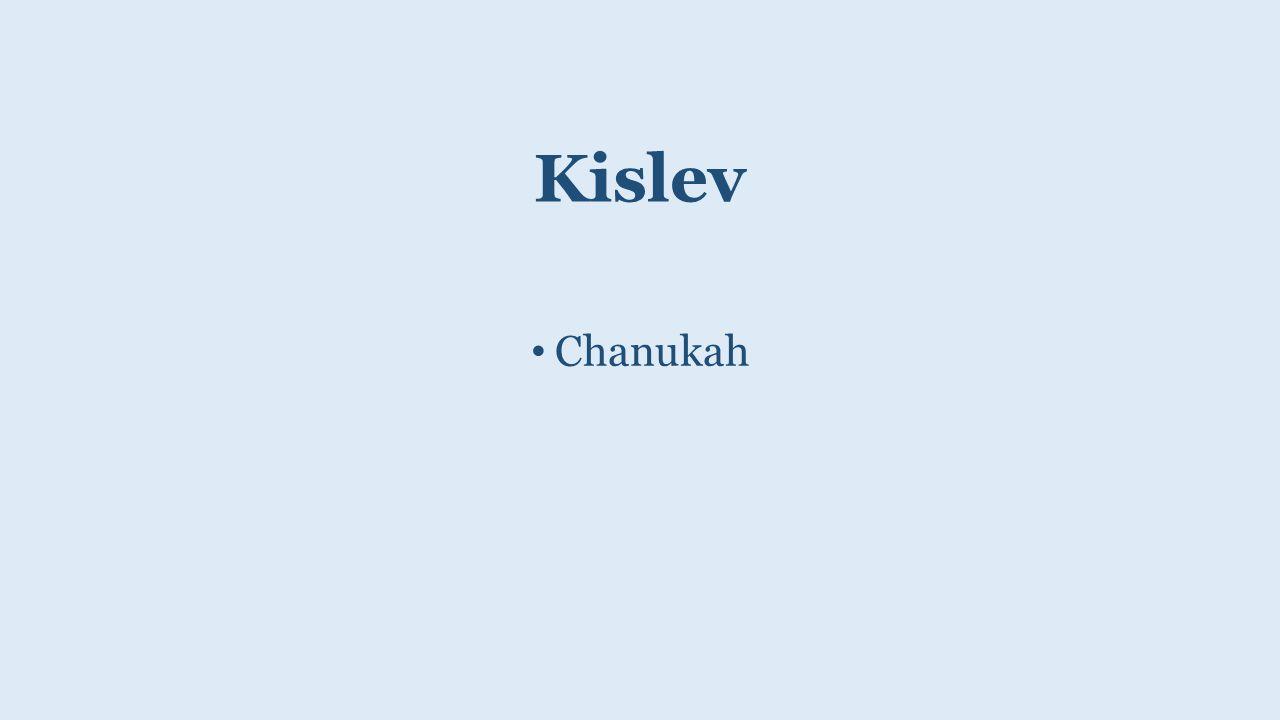 Kislev Chanukah