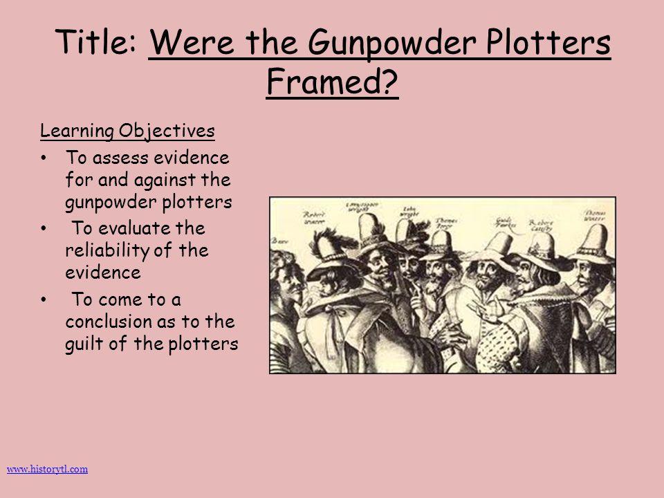 Title: Were the Gunpowder Plotters Framed