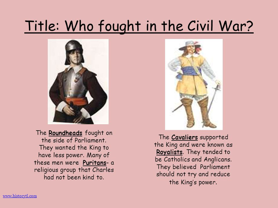 Title: Who fought in the Civil War