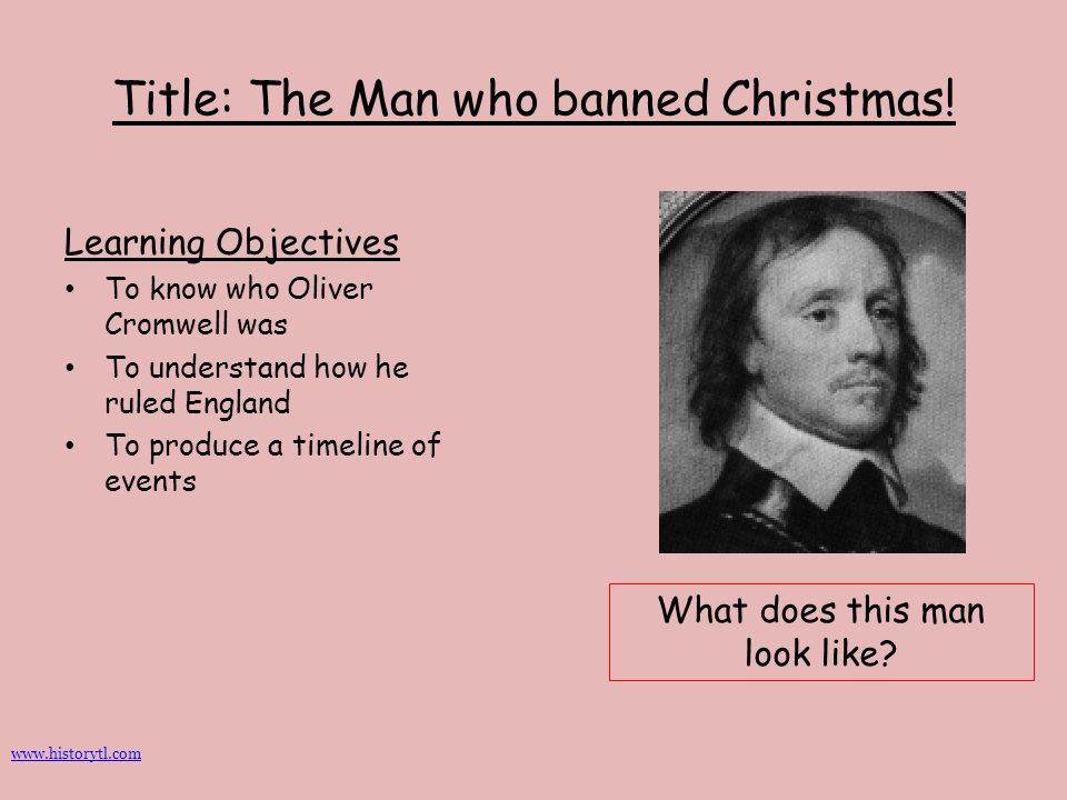 Title: The Man who banned Christmas!