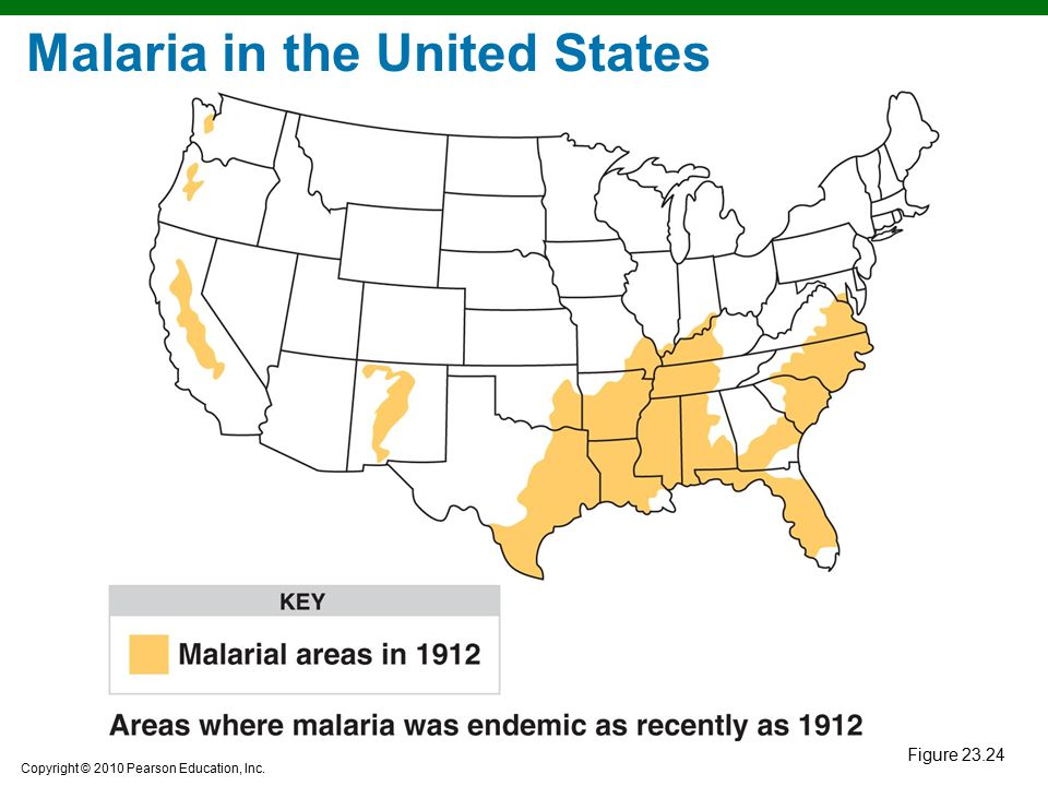 Malaria in the United States