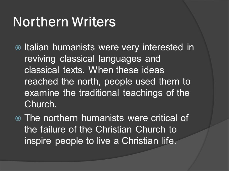 Northern Writers