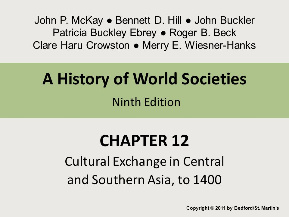 A History of World Societies Ninth Edition