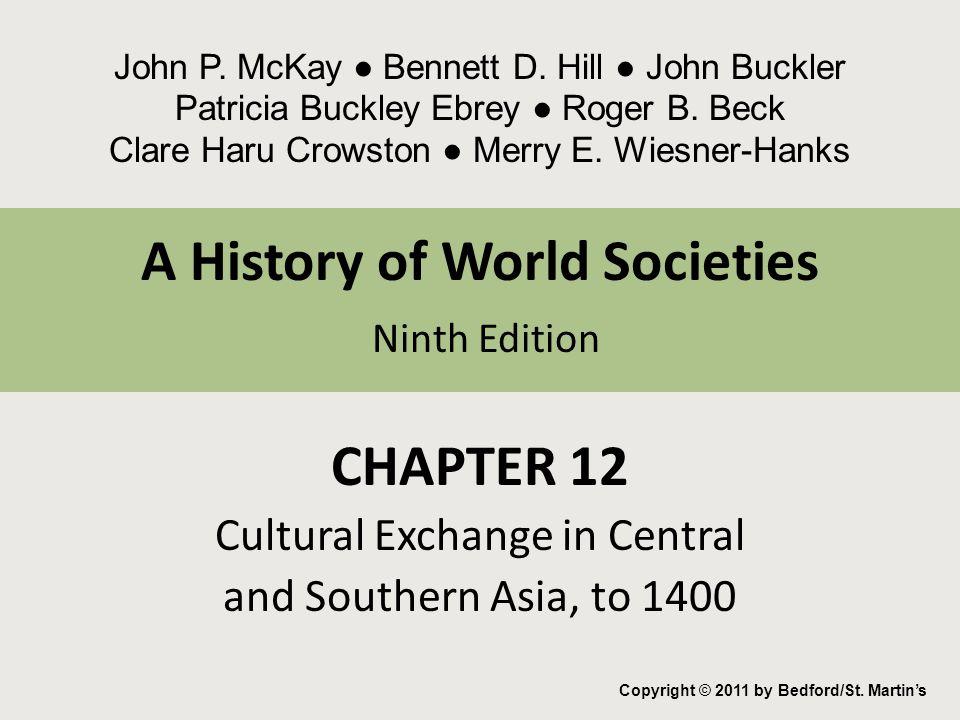 A History of World Societies Ninth Edition