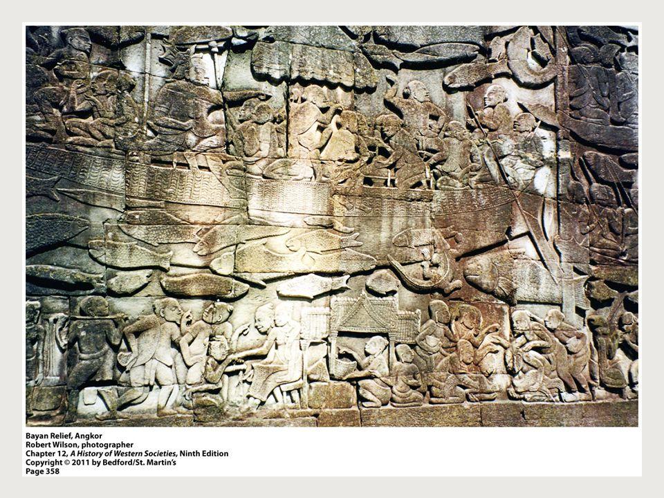 Bayan Relief, Angkor (p. 358)