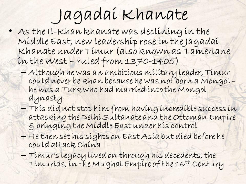 Jagadai Khanate