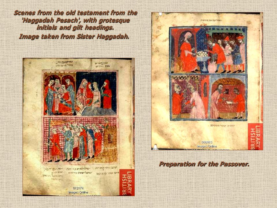 Image taken from Sister Haggadah. Preparation for the Passover.