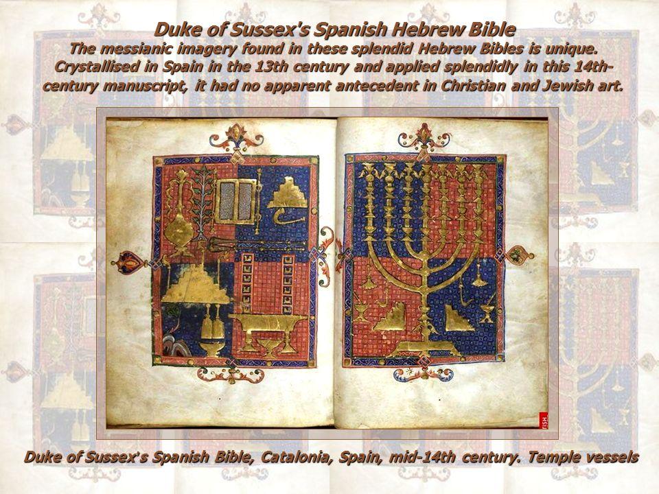 Duke of Sussex s Spanish Hebrew Bible