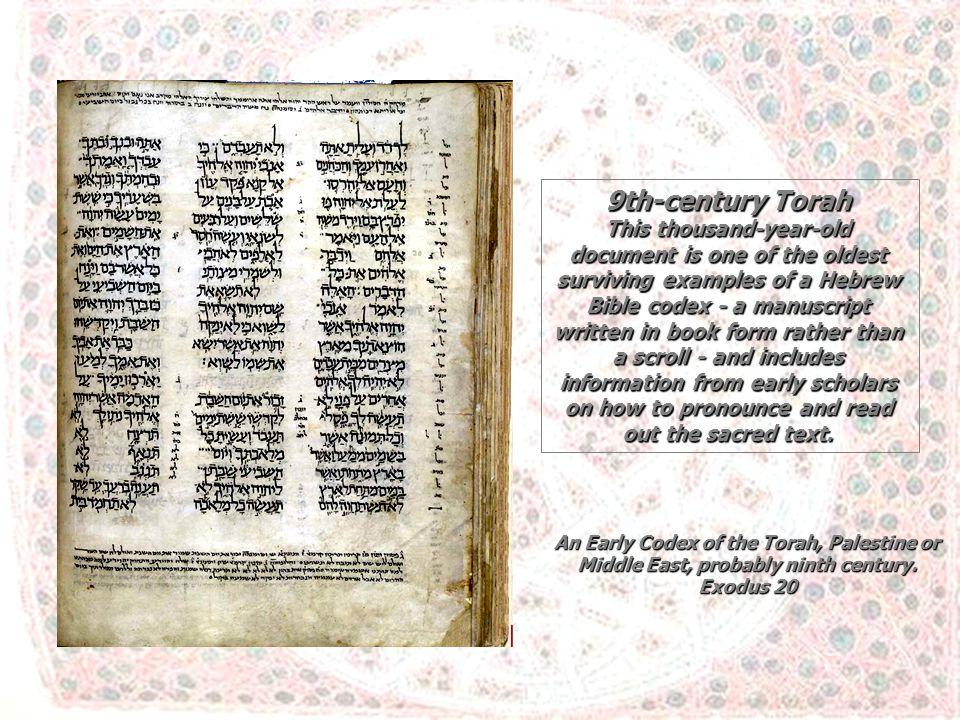 9th-century Torah