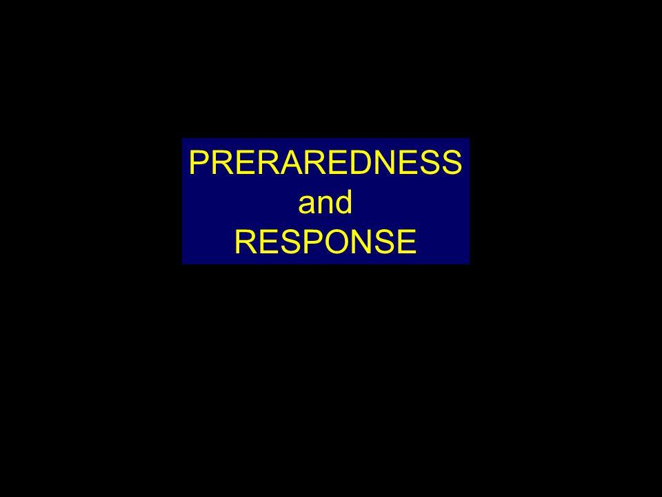 PRERAREDNESS and RESPONSE