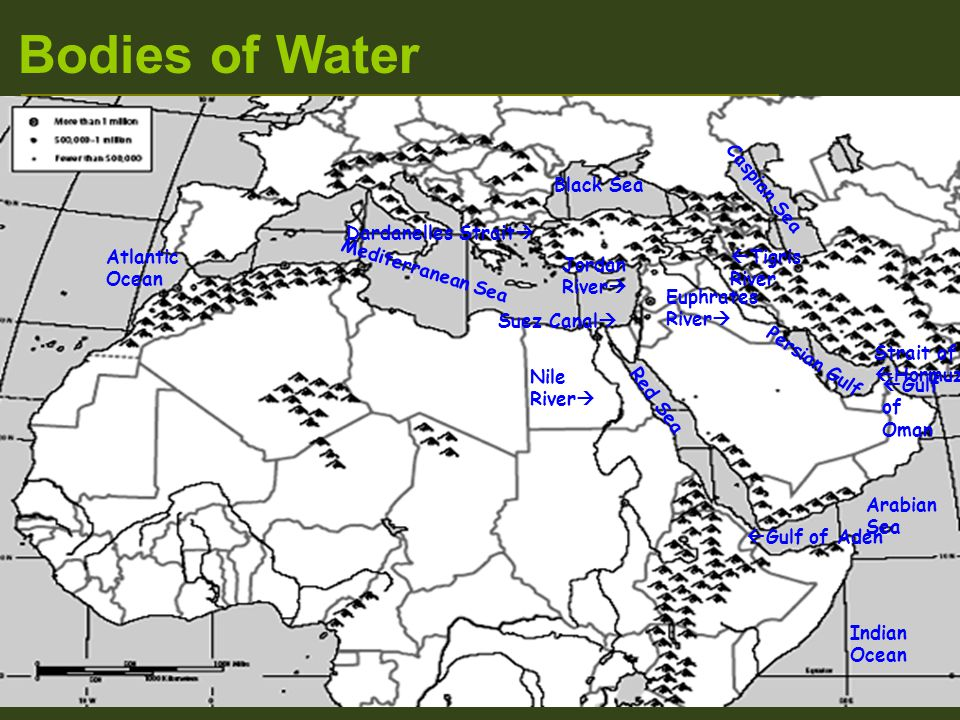 Unit 6 Chapter 17 The Physical Geography of North Africa