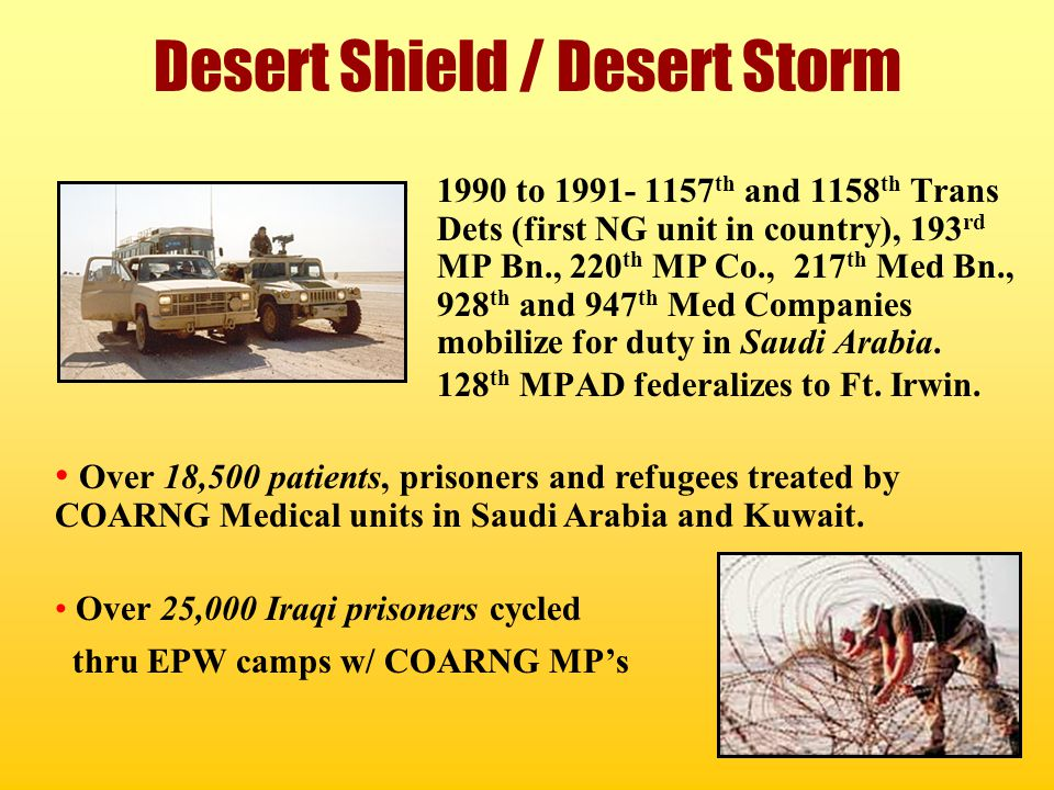 Desert Shield / Desert Storm