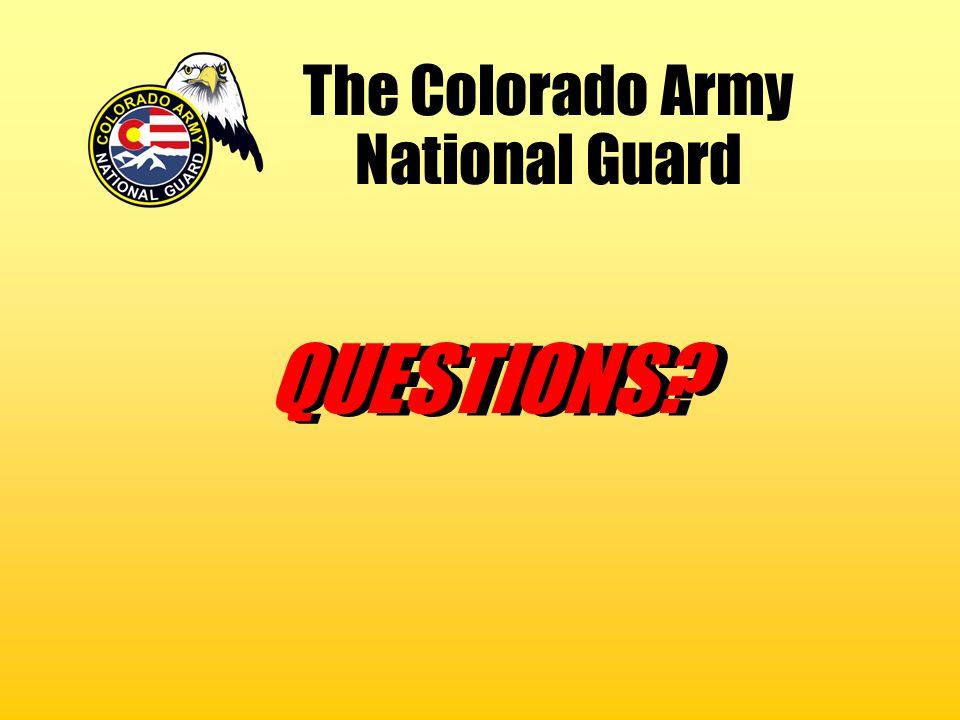 The Colorado Army National Guard