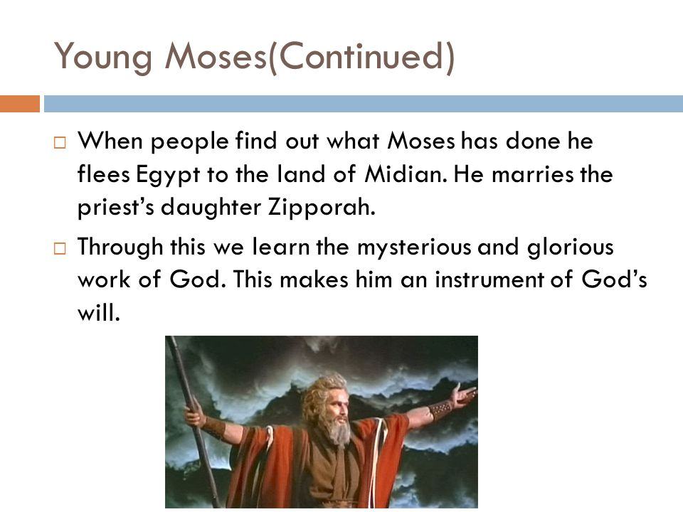 Young Moses(Continued)
