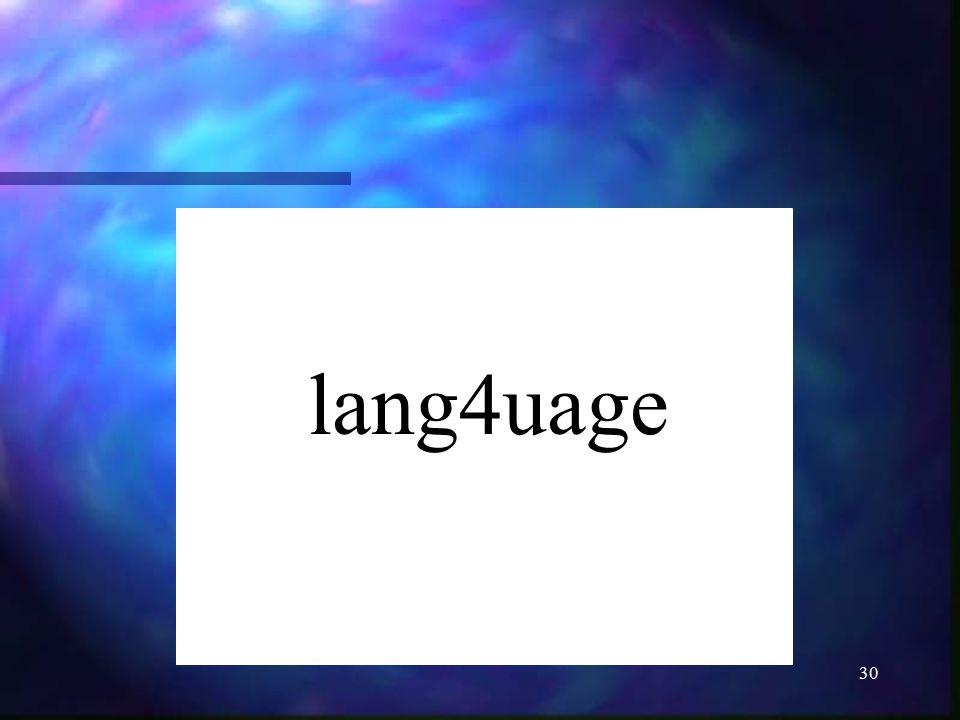 lang4uage