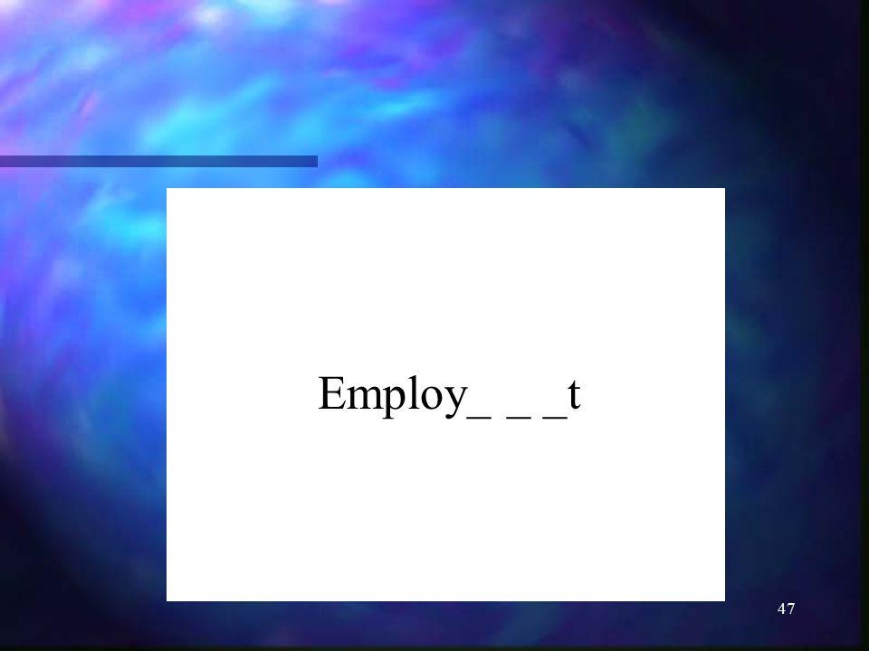 Employ_ _ _t
